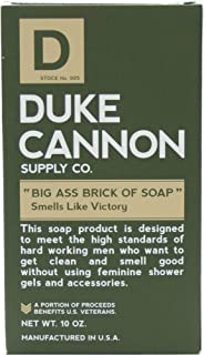product image for Duke Cannon Supply Co. - Big Ass Brick of Soap, Smells Like Victory (10 oz) Superior Grade Masculine Scent Bar Soap Designed for Hardworking Men - Clean, Fresh With a Hint of Seagrass