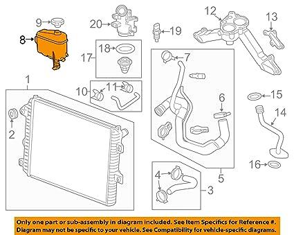 Amazon Genuine Gm 22866587 Radiator Surge Tank Automotive