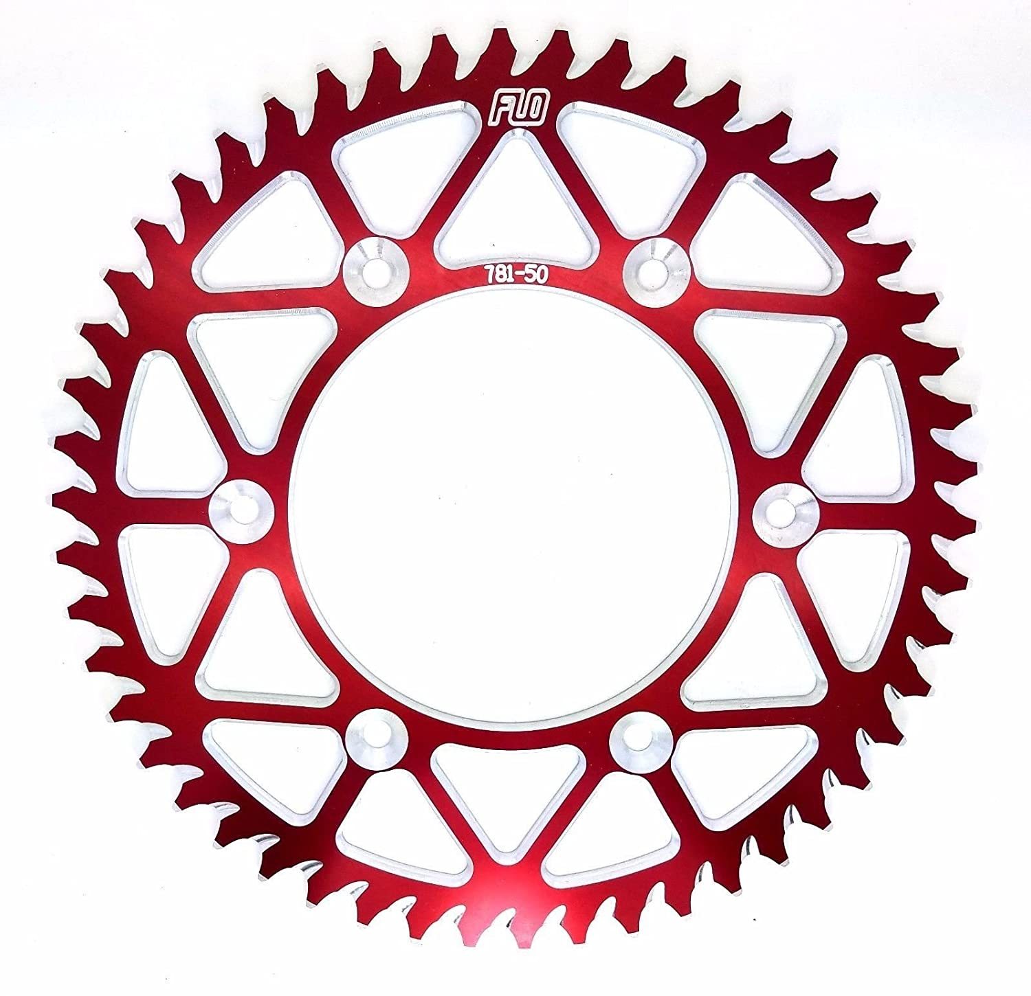 50 50T, RED 49 RENTHAL R1 COMBO KIT Fits: CR125 // CRF250 13T FRONT SPROCKET // 48 51 TOOTH REAR SPROCKET