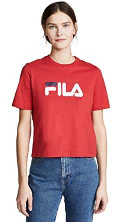 5d8de04096a8 Amazon.com  Fila Women s Miss Eagle Tee  Clothing
