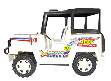 Buy Kotak Sales Small Indian Soldier Jeep Vehicle Toy Non Toxic