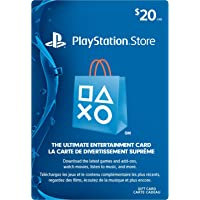 PlayStation Network Card - $20 Gift Card Edition