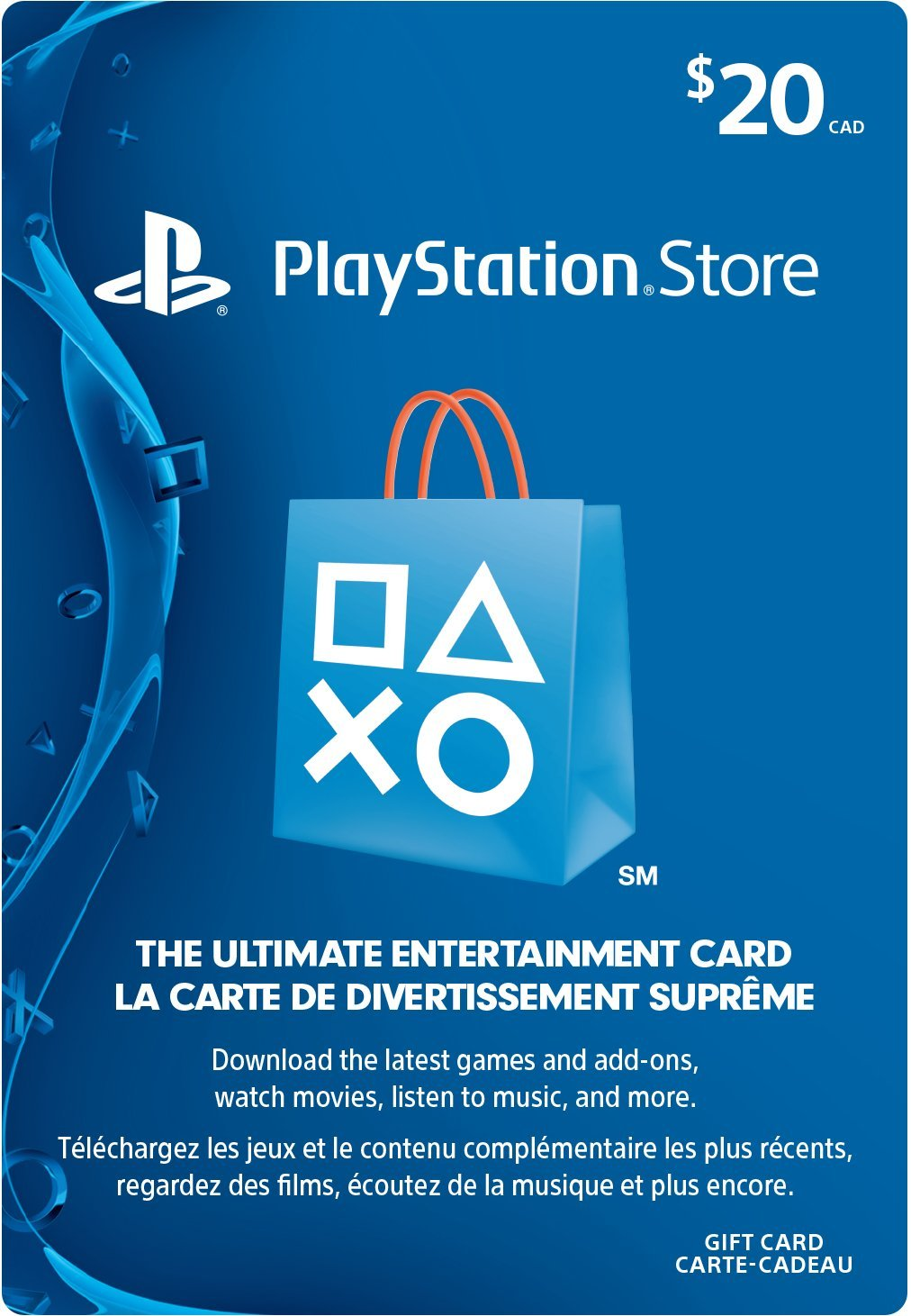 PlayStation Network Card - $20 Gift Card Edition: Playstation ...