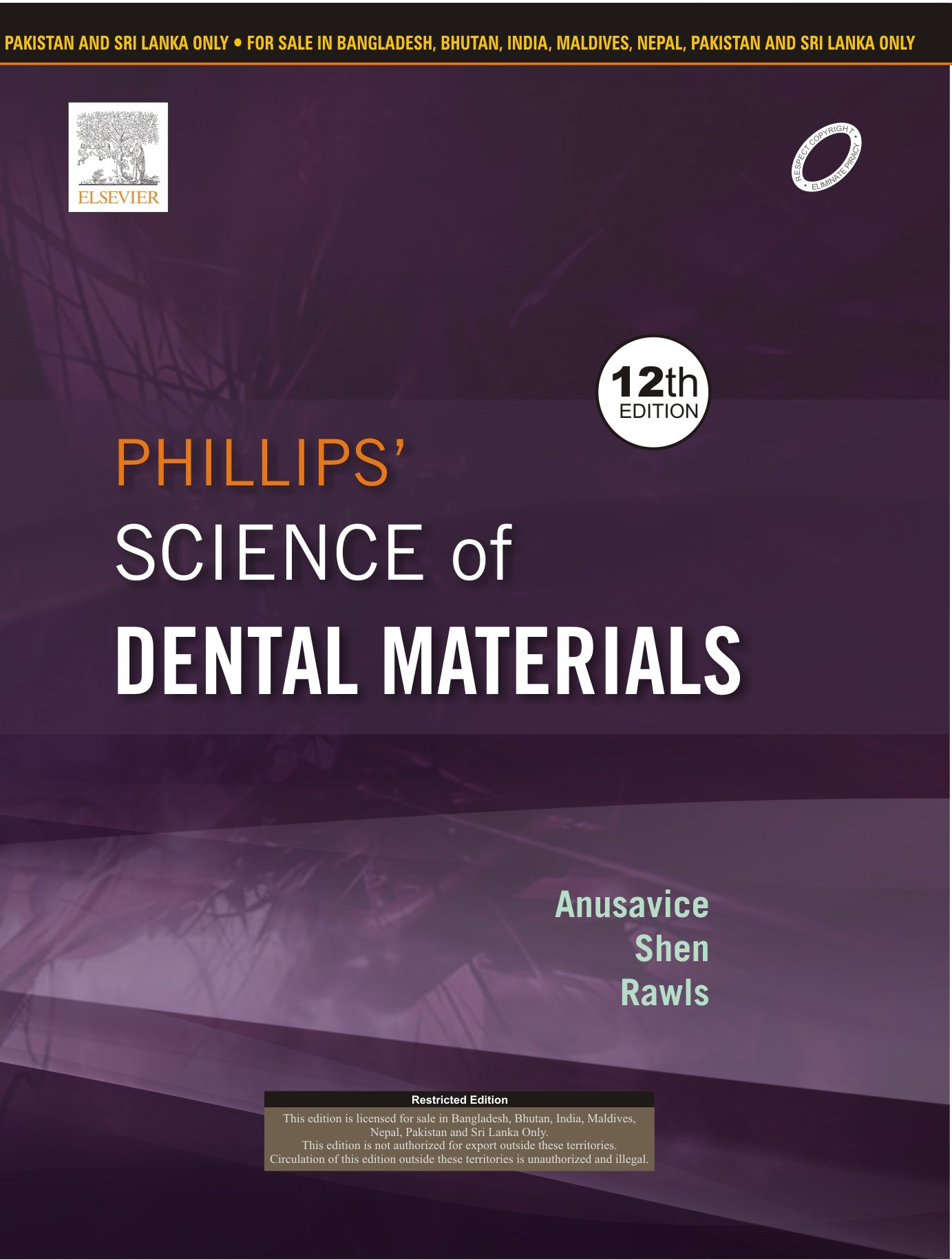 Buy Phillip\'s Science of Dental Materials (Old Edition) Book Online ...