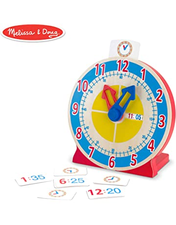 Toys & Hobbies Diy Hand Made Wooden Clock Toys Learning Time Clock Educational Math Number Novelty Interesting Toys For Children Birthday Gifts Learning & Education