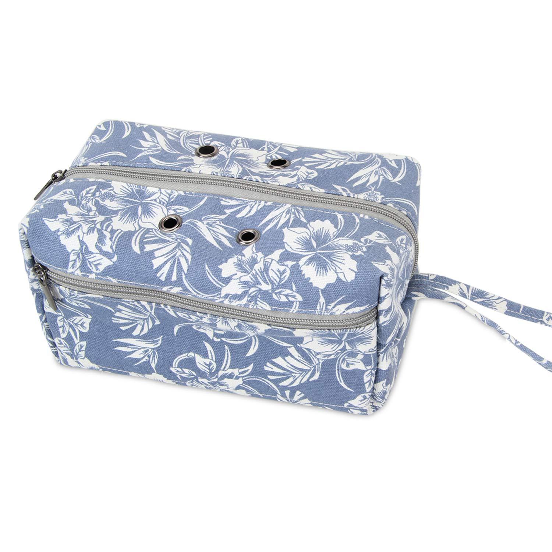 Luxja borsa maglia, borsa filati, borsa uncinetto per matasse di filati, porta uncinetti, ferri maglia (fino a 8 pollici) e altri piccoli accessory