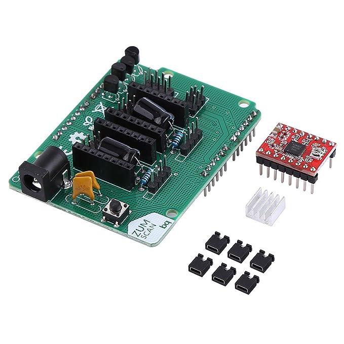 3d impresora escáner tarjeta de expansión con A4988 StepStick ...