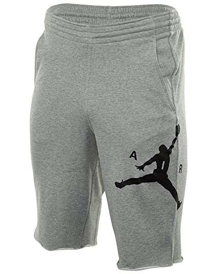 abf21635ec9 Jordan City Knit Graphic Shorts Dark Grey/Black 835159-063 Size Small
