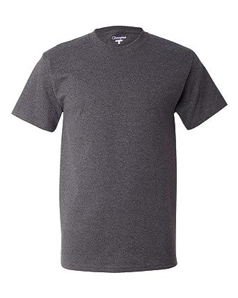 28ca91b1 Champion 6.1 oz. Tagless T-Shirt, Charcoal Heather, S