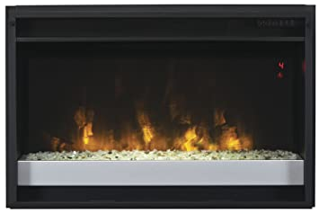 Ordinaire ClassicFlame 26EF031GPG 201 26u0026quot; Contemporary Electric Fireplace Insert  With Safer Plug