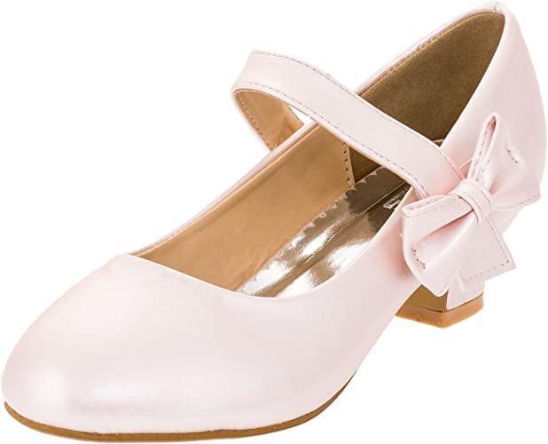 Max Shoes Girls' Court Shoes Pink Size