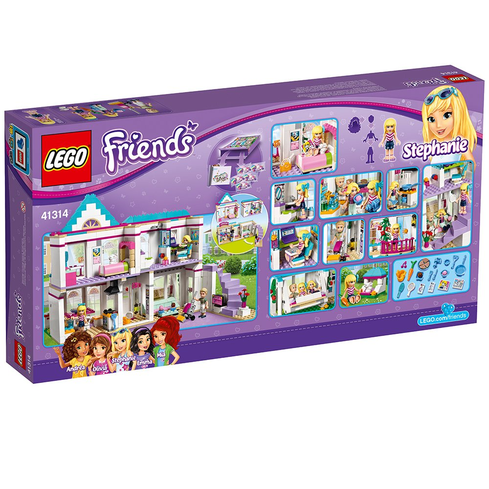 LEGO Friends Stephanie's House 41314 Toy for 6-12-Year-Olds by LEGO (Image #6)