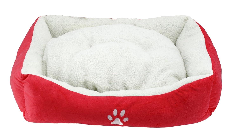 BPS® Cama para Perros y Gatos Cálido Cubierta Suave Tipo Cuna Mullida BPS-1528 (Azul Oscuro): Amazon.es: Hogar