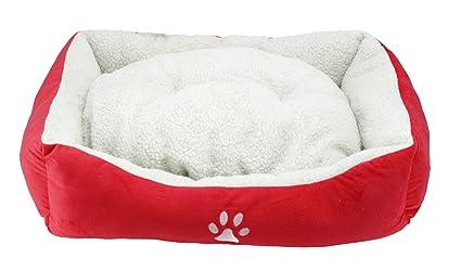 BPS® Cama para Perros y Gatos Cálido Cubierta Suave Tipo Cuna Mullida BPS-1528