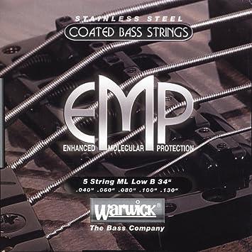 Ernie Ball 2021 Paradigm Regular Slinky E-Gitarre Saiten Nano Beschichtung