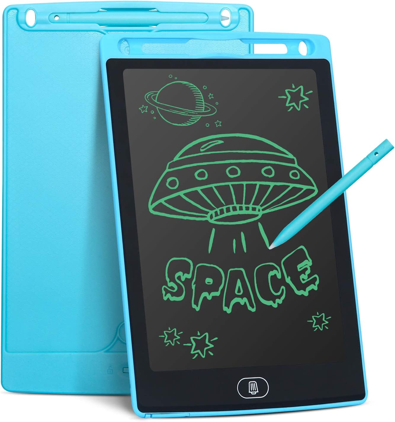 8.5 Inch Electronic Writing Drawing Doodle Board Tablet Digital Ewriter Pad Office Home School Handwriting Pad Memo Notebook LCD Electronic Writing Tablet Color : Black for Kids and Adults