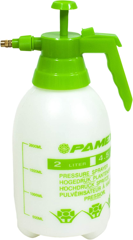 PAMEX - Botella pulverizar sulfatar Bomba de presión/vaporización pulverizador (2 litros)