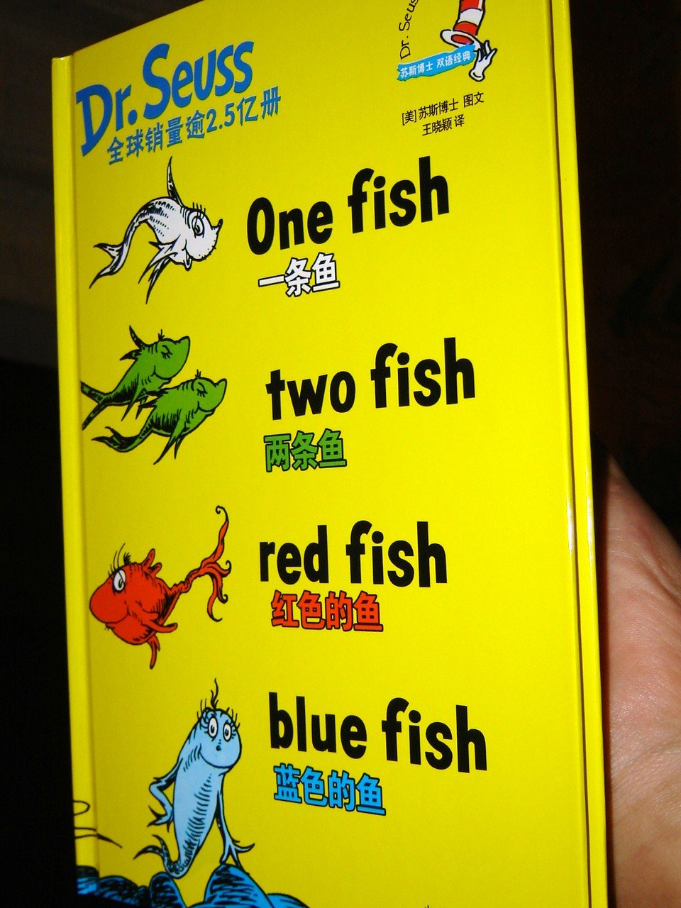 Download One fish, two fish, red fish, blue fish / Dr. Seuss Classics / English – Chinese Bilingual Edition / 2009 Print ebook