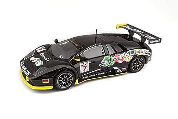 Buy Bburago Lamborghini Murcielago Fia Gt Black Online At Low