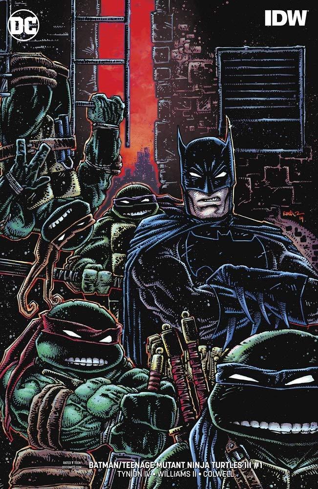 BATMAN TEENAGE MUTANT NINJA TURTLES III #1 VARIANT at ...
