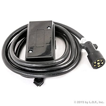71 Bw4fFQzL._SY450_ amazon com 7 way trailer wire junction box camper truck  at gsmportal.co