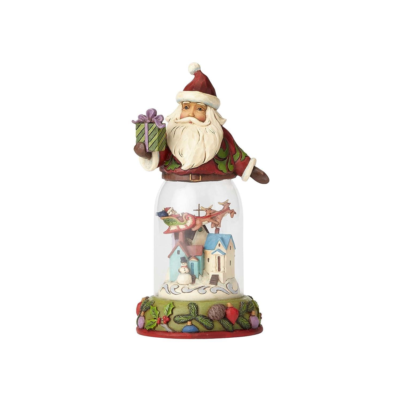 Enesco Jim Shore Heartwood Creek Santa w Christmas
