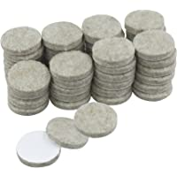 Rolson 61310 Felt Pads, 25 mm - 48 Pieces