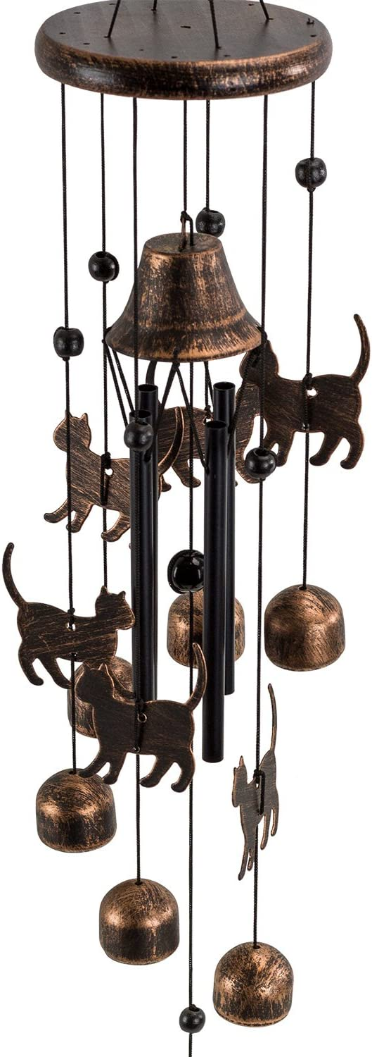Dawhud Direct Cats Wind Chime