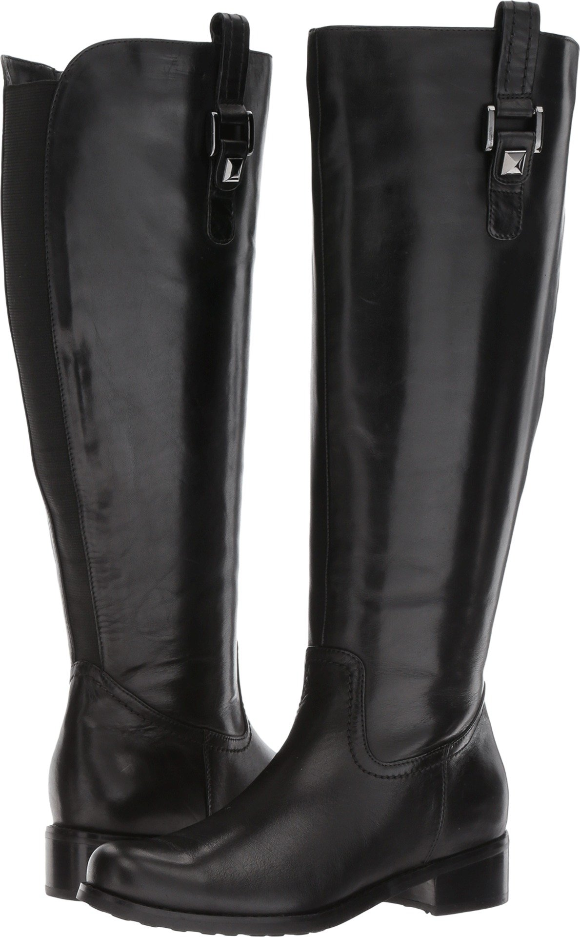 Blondo Women's Velvet Ws Waterproof Riding Boot, Black, 6.5 M US