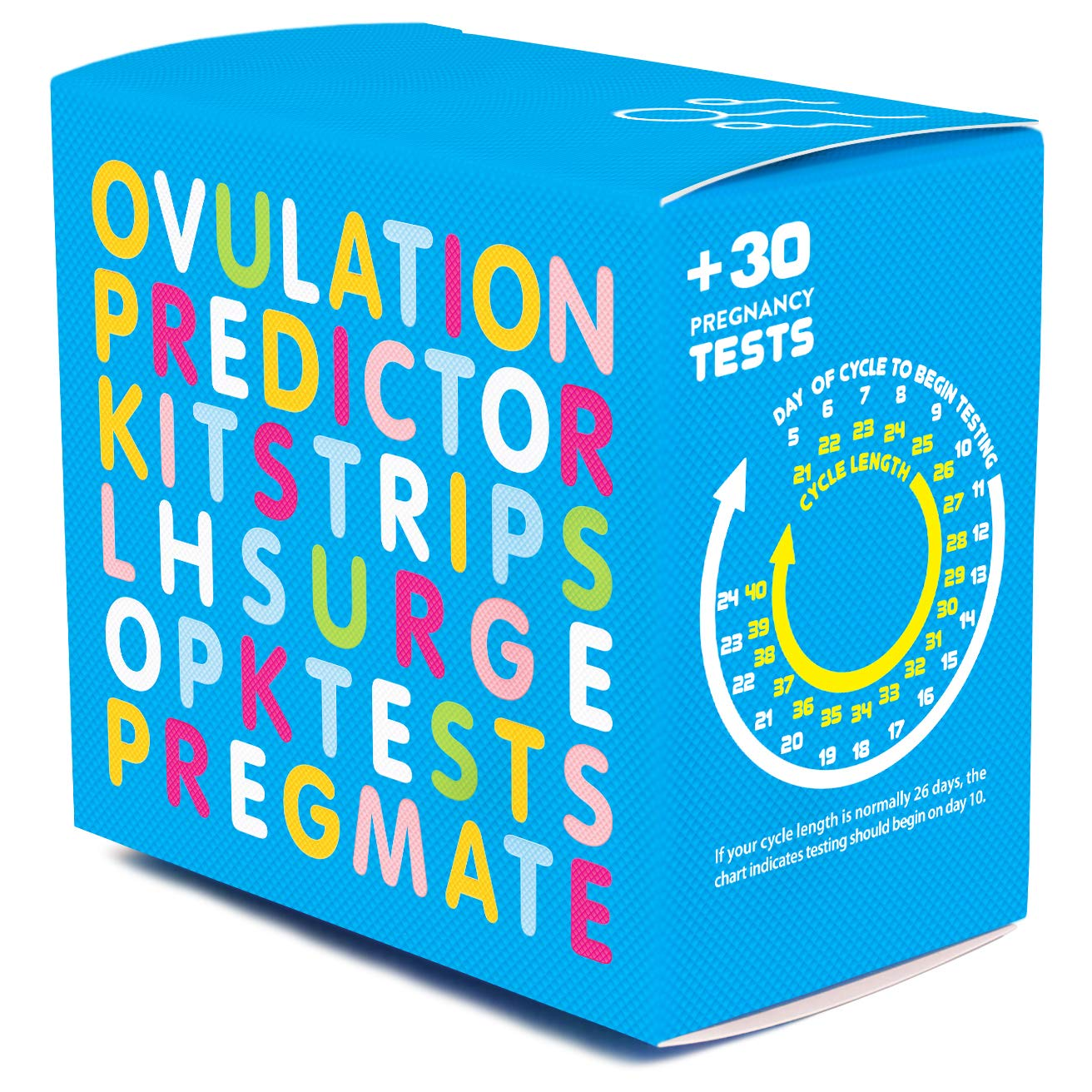 PREGMATE 60 Ovulation LH and 30 Pregnancy HCG Test Strips Predictor Kit Combo (60 LH + 30 HCG) by PREGMATE