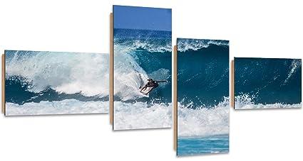 Feeby Frames, Cuadro de pared - 4 partes - Cuadro decorativo, Arte mural imreso