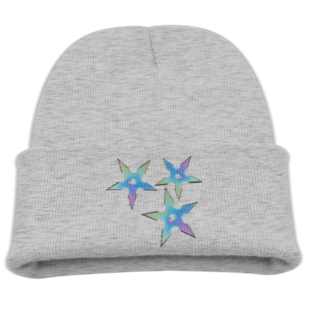 Amazon.com: Shuriken Ninja Stars Boys Attractive Beanie Soft ...