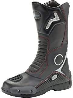 4aec12bab09 Amazon.com: Joe Rocket Men's Meteor FX Leather Motorcycle Riding ...