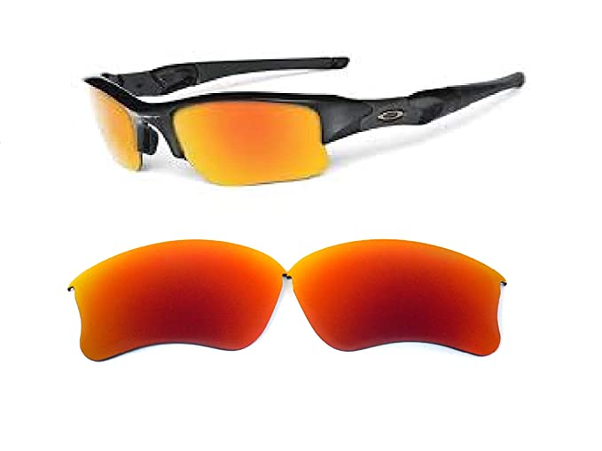 0400e52c18c Image Unavailable. Image not available for. Color  Galaxy Replacement lenses  For Oakley Flak Jacket XLJ Sunglasses Polarized Red
