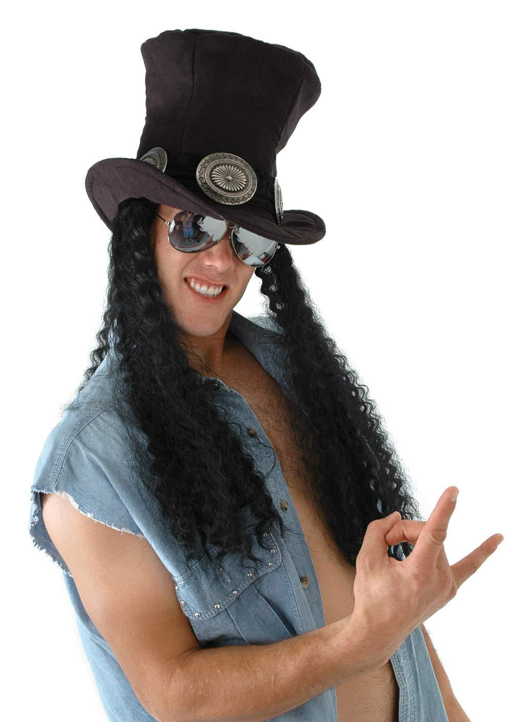 elope Guitar Superstar Hat w/Hair