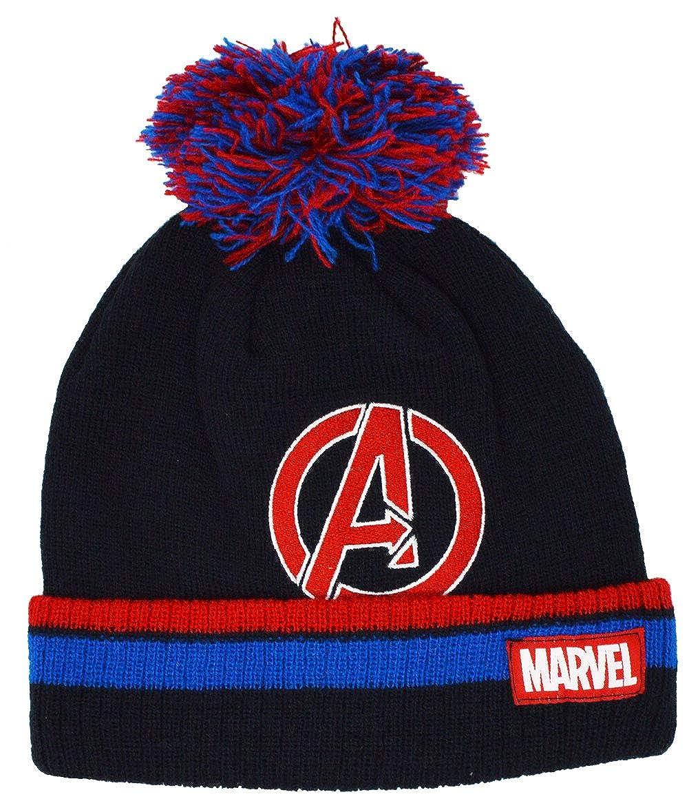 Kids Marvel Avengers Winter Beanie Hat