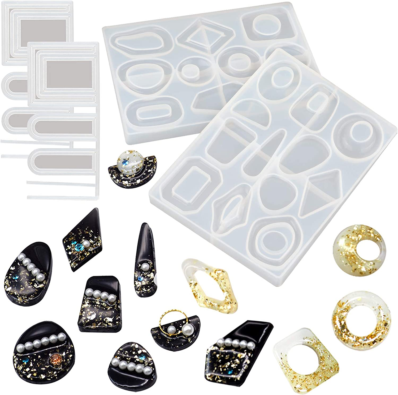 Geometric Silicone Earring MoldMould