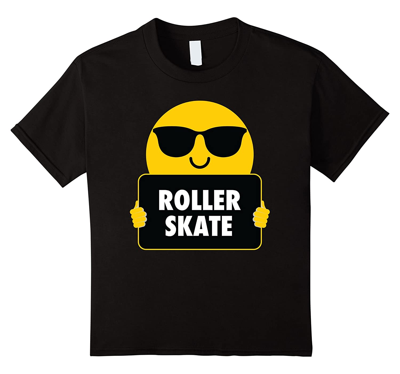 Roller Skate Sunglasses T Shirt Tee-Awarplus