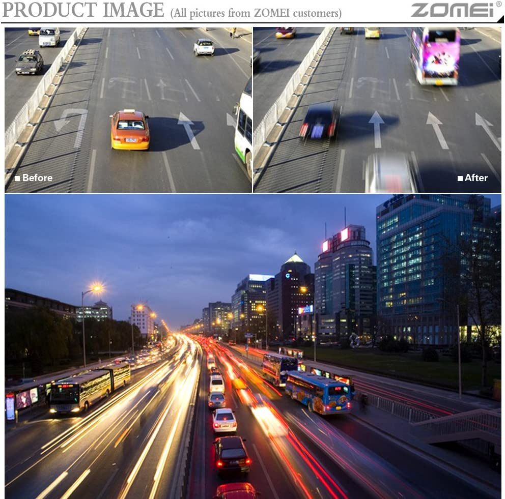52mm ZoMei Ultra Slim HD 18 Layer Super Multi-Coated Schott Glass PRO Density Neutral Gray ND1000 Lens Filter