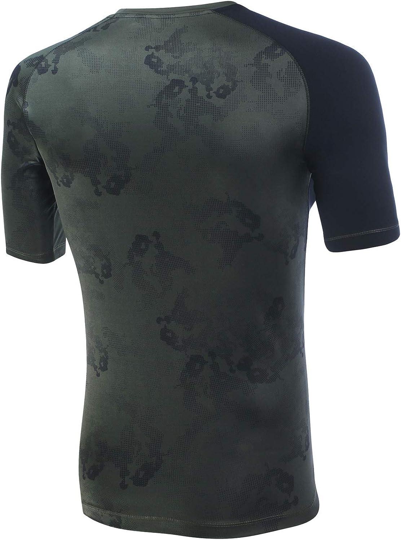 Boxeur des rues Man Raglan SS T-Shirt with Camouflage Details