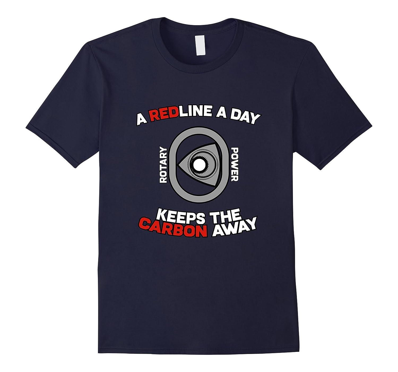 A Redline A Day Carbon Away – Rotary Engine Shirt