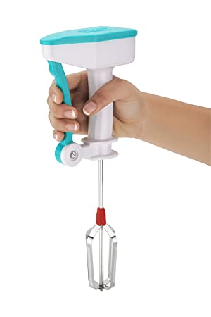 Shopo Nestwell Egg Beater Lassi Butter Milk Maker Mixer Power Free Hand Blender Hand Blenders at amazon