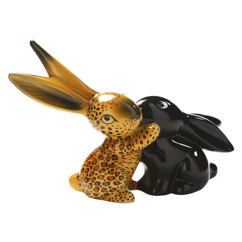 Amazon.de: Goebel 66874462 Bunny de Luxe Leopard Bunny in Love Figur