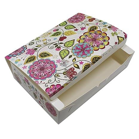 Various Diseño Boda caja para cake Cookies Chocolate Craft papel de regalo bolsa de almacenamiento Caja