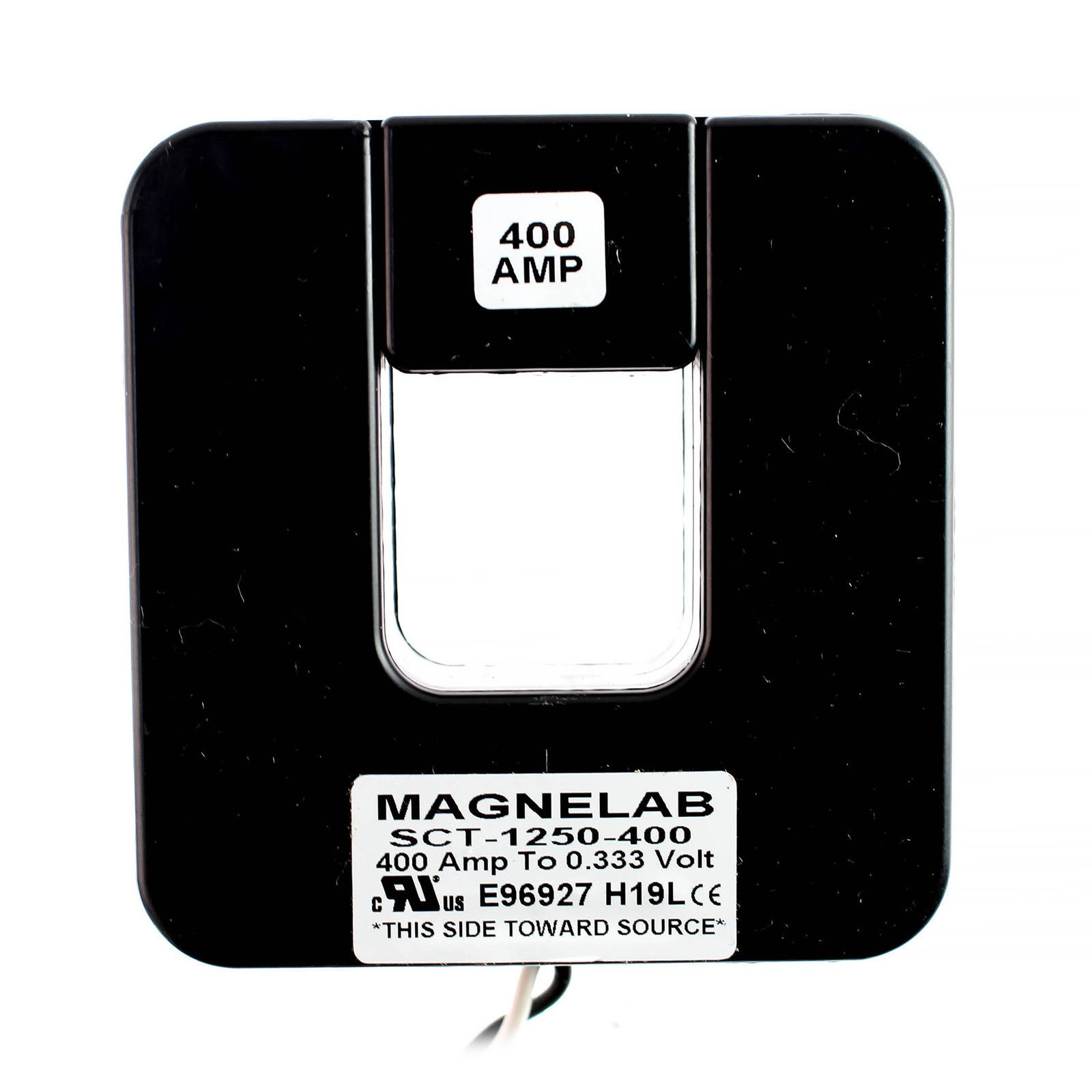 Magnelab SCT-1250-400 Split Core Current Transformer (CT) 1.25'' ID 0.333V Secondary (Output) 400 Amp Primary (Input)