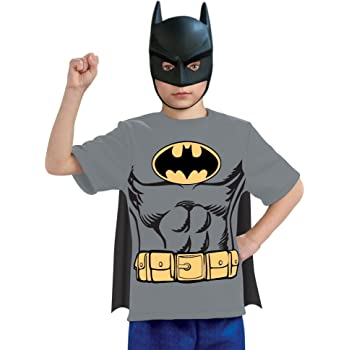 Justice League Childs Batman 100% Cotton T-Shirt - Small