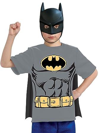 Kit disfraz Batman para niño - 8-10 años: Amazon.es ...