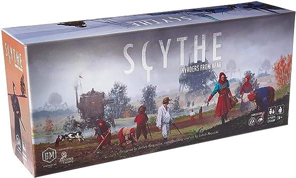 Stonemaier Games STM615 - Invasores de Tierras Lejanas, Expansion Scythe: Amazon.es: Juguetes y juegos