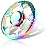 Fidget Spinner,Yocktec Fidget Spinner with High Speed Bearing Stress Reducer Reliever Toy for ADD, ADHD, Anxiety, Children and Adults Gift Rainbow Rainbow