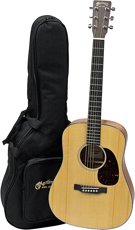 Martin Dreadnought – Guitarra acústica w/funda: Amazon.es ...